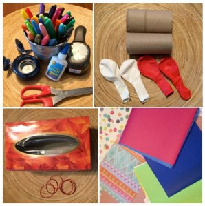 Craft Supplies for Harmony Project